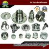 Kundenspezifisches CNC-maschinell bearbeitenmetallkupfernes MessingEdelstahl-Aluminiumgefäß