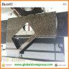 dessus baltiques faits sur commande de cuisine de granit de Brown de forme irrégulière de 3cm contre-