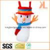 Polyester-Qualitäts-Weihnachtsdekoration-Schneemann-Artbrown-Süßigkeit-Aufladung