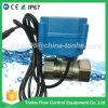 Robinet à tournant sphérique motorisé électrique en laiton nickelé bidirectionnel de Dn20 Cr202 220V pour la vapeur