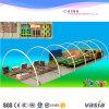 Спортивная площадка Trampoline малышей крытая для горячих продавая мягких игрушек