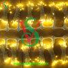 Украшение венчания кабеля PVC освещая Connectable свет занавеса