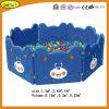 Associação interna macia plástica da esfera do urso do campo de jogos das crianças