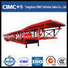 Cimc de TriVrachtwagen van de Auto-carrier van de Aanhangwagen van het Vervoer van de Auto-carrier van de As