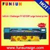 720dpi Infiniti/impresora solvente 248 Sqm de la bandera del desafiador Fy-3212sp los 3.2m por hora