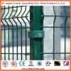 Segurança comercial galvanizada e revestida que cerc o painel que cerc o cerco da jarda