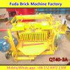 La machine de brique de ponte d'oeufs peut déménager du site à site