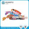 Wristband divertente tessuto ecologico variopinto per il festival