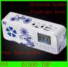 Beweglicher Minilautsprecher MP3 mit Bluetooth+Power Bank+FM Radio+LCD Schirm