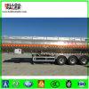 5454 Olietanker 3 van het aluminium De Semi Aanhangwagen van de Tank van de Brandstof van de As voor Chemische Vloeibare Vervoer