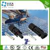 Разъем аттестации Mc4 TUV для провода кабеля PV мыжской женщины пар разъема панели солнечных батарей установленного