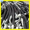 Schlauch mit zu verstärken der Faser-Flechte und Stahldraht-Flechte