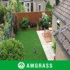 完全で贅沢な景色の人工的な芝生の庭の泥炭(AMUT327-25D)