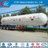Acoplado licuefecho 60cbm del tanque del LPG del gas del propano de la alta calidad semi