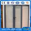 Doppeltes glasig-glänzender Großhandelspreis des schiebenden Aluminiumfensters