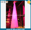 Nieuwe Brand Christmas Decoration LED Lighted Inflatable Pillars met LED Light voor Sale