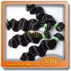 O cabelo humano brasileiro caro da classe de Aaaa tece