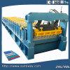 De verglaasde die Tegel walst het Vormen van Machine voor Dak koud in China wordt gemaakt
