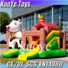 膨脹可能なCow Bouncer、Kids、Attraction Inflatable Castle、Animal Bouncy Castles Inflatables中国のためのJump