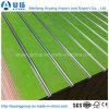 MDF Slatwall van de melamine met de Tussenvoegsels van het Aluminium/Ingelaste MDF