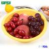세척하고 봉사를 위한 쉬운 거는 실리콘 접을 수 있는 과일 바구니