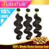 7A Body brasiliano Wave Virgin 100% Human Hair Extensions in 20