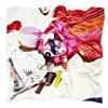 غنيّ بالألوان [توب قوليتي] [ديجتل] طباعة حرير وشاح