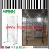 Stand de panneau de treillis métallique de crémaillère de présentoir de treillis métallique