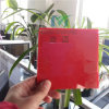 Polycarbonate opaco Solid Sheet in Red