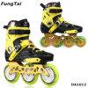 通りのFreelineのローラーのインラインスケートの速度のスケートは110mmに1スケートで滑る靴の3つの車輪2蹄鉄を打つ(DA1012)