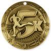 Hight Qualität kundenspezifische Weltkategorien-Goldmedaille 2017 des Marathon-5k