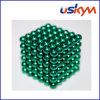 Brinquedo magnético revestido verde de Buckyball das esferas (T-020)