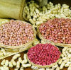 新しい穀物によって白くされるピーナツカーネル