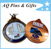 Soft Enamel Medal with Antique Copper Plating