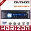 Joueur audio de voiture de la voiture DVD 03, commande automatique d'antenne de fonction d'EQ aux. dans et dehors de Remot, lecteur DVD de voiture