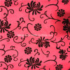 2 capas Nylon Flocking Flocked Fabric para Garment