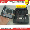4CH H. 264 GPS Mobile DVR van BR Card HDD 3G WiFi GPRS met bouwen-in LCD Monitor voor Vehicles