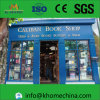 Boutique de livres préfabriqués à l'épreuve du vent U Steel