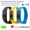 Slimme Armband met Controle en Bluetooth 4.0 van het Tarief van het Hart
