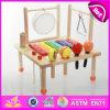 Nouvelle musique en bois du jouet 2014, jouet en bois populaire de musique, musique en bois W07A041 de jouet de vente chaude