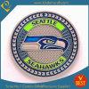 Muntstukken van het Metaal van de Herinnering van Seatle Seahawks van de douane de 2D (ln-085)