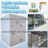 Sitio logístico de conservación en cámara frigorífica del aislante de la PU del almacén