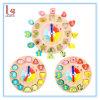 Reloj del bloque hueco de Digitaces, juguete del rompecabezas de los niños