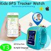 Montre mobile des gosses GPS avec le bouton de SOS (Y3)