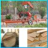電気移動式水平の森林木製のログの製材工場機械