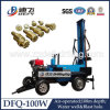Water WellのためのDfq-100W Trailer Type Portable Rock Drilling Machine