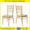금속 철 금 Chiavari 모형 겹쳐 쌓이는 의자