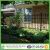 Clôture résidentielle enduite bon marché en gros de poudre noire pour la garantie