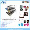 Máquina de transferência da imprensa do calor da parte superior do t-shirt para a venda
