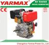 Yarmax手の開始空気によって冷却される単一シリンダー330cc 3.68/4kw 5/5.4HP海洋のディーゼル機関Ym178f